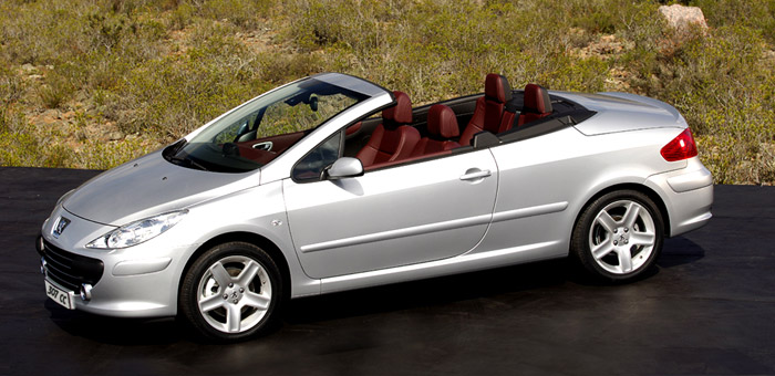 image gallery peugeot 307 cabriolet. Black Bedroom Furniture Sets. Home Design Ideas